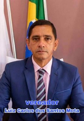 Luiz Carlos dos Santos Mota - Vereador - Legislatura 2021 a 2024